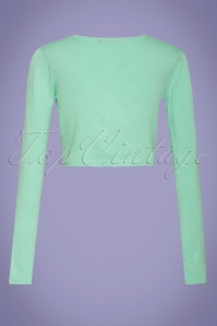 Smashed Lemon 27733 Mint Green Cardigan 2W