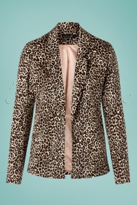 Smashed Lemon 27747 Leopard Blazer 20190208 004W
