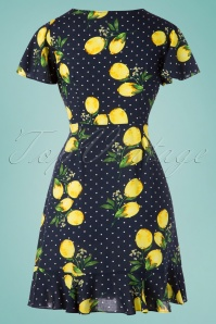 Smashed Lemon 27754 Lemon Polkadot Dress 20190208 004W