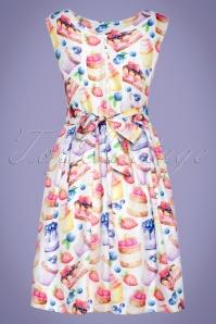Smashed Lemon 27756 Cupcake Dress 2W