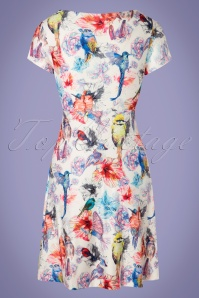 Smashed Lemon 27760 Floral Bird Dress 20190326 008W