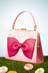 Topvintage Boutique Collection 27688 Pink Bag Bow 20190227 014