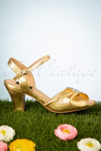 TopVintage BoutiqueCollection 28408 Ava Sandal Gold Silver 20190227 0047W