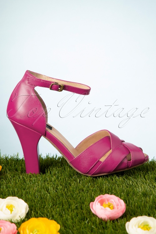 Topvintage Boutique Collection 6 28413 June Sandal Pink 20190226 040W