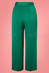 Closet London 30160 Pleated Green Trousers 20190327 004W
