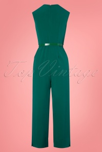 Closet London 30157 Seam Jumpsuit Green 20190327 009W