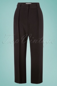 Closet London 30159 Belted Black Trousers 20190327 002W