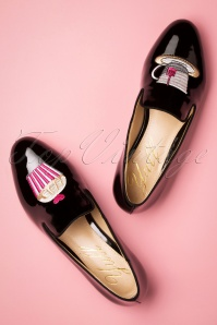 50s Burlington Tea Time Loafers in Black