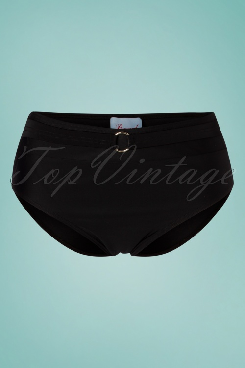Banned 28106 Bikini Pants in Black Glamour 20181213 002W