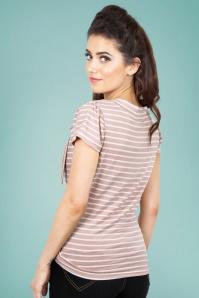 Vixen Alexa Collar Top in Pink 28338 2