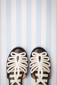 Lola Ramona 26736 Heels Penny Sandaaltjes Flats Black White 20190319 011 copy