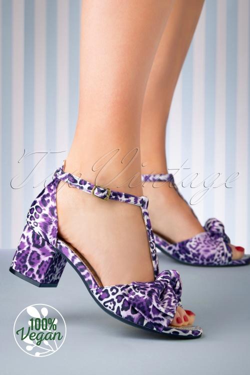 Lola Ramona 26726 Vega Tstrap Purple Gold Eve Heels 20190321 020 W