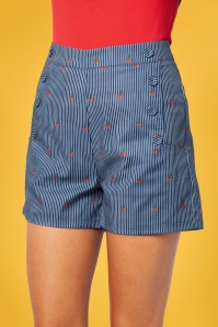 Vixen 28327 50s Zoey Sailor Shorts 2