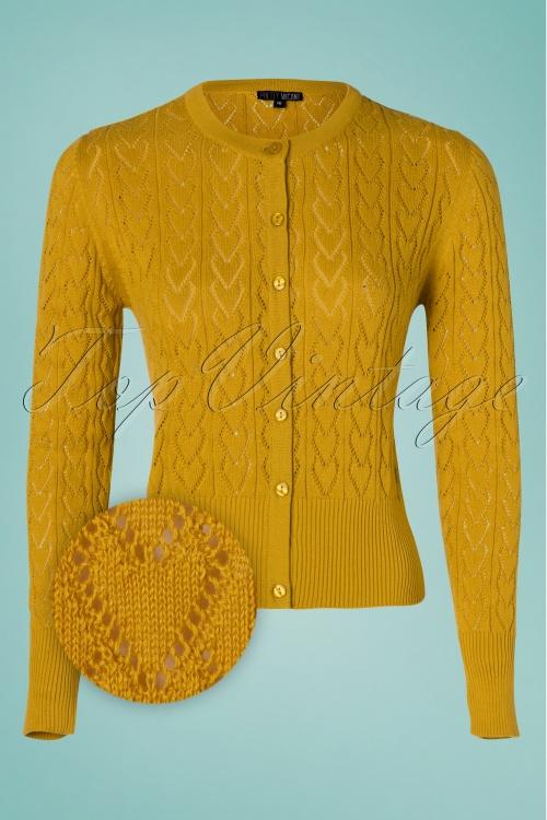 Pretty Vacant 27558 Heart Cardi Yellow 20190329 003z