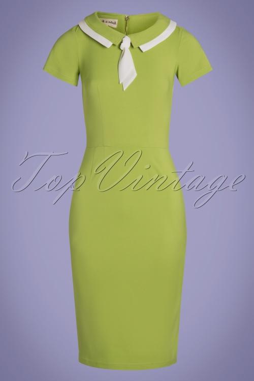 Tatyana 29513 Catherine Green Pencil Dress 20190401 002w