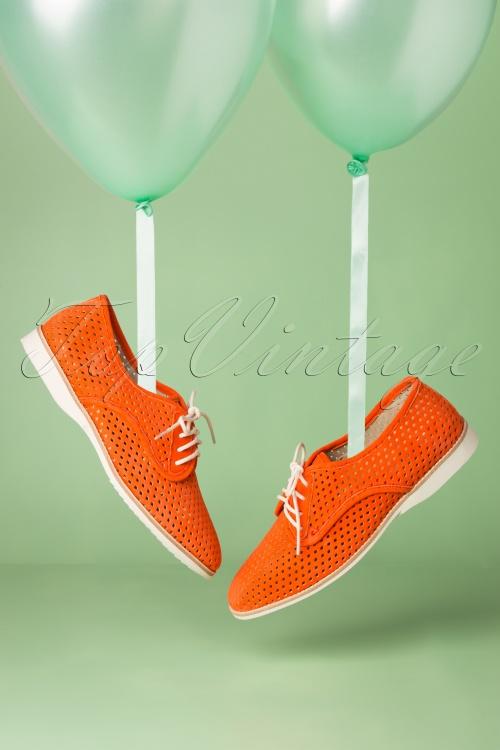 Rollie 27866 Derby Punch Coral Sneaker 20190329 004 W