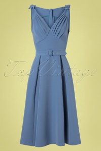 MissCandyfloss 28662 Swing Blue Sleeveless 03042019 0001W