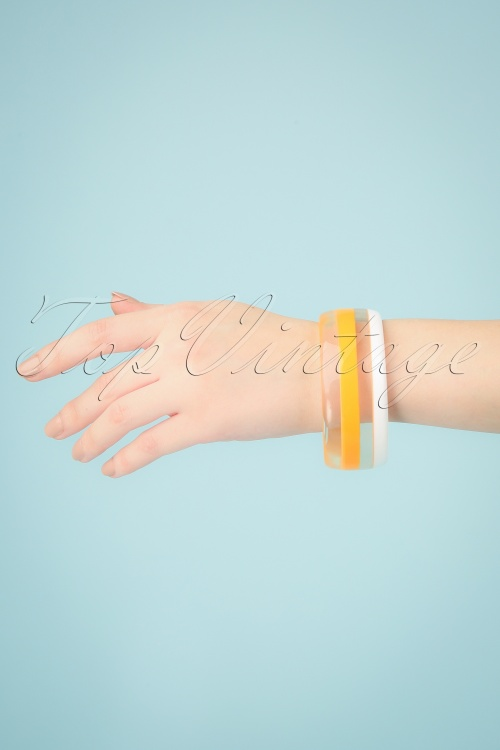 Darling Divine 28977 Bracelet Yellow Striped 20190320 002 W