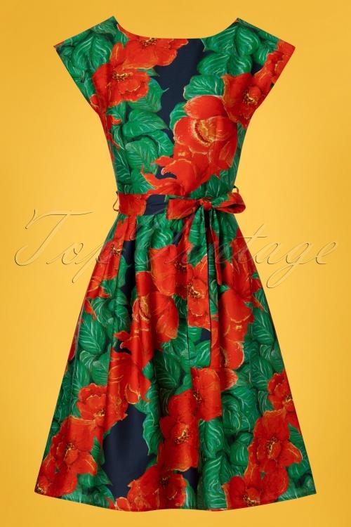 Palava 28208 Beatrice Floral Dress 20190404 003W