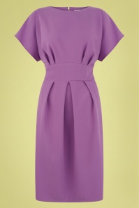 60s Judie Dress in Lilac