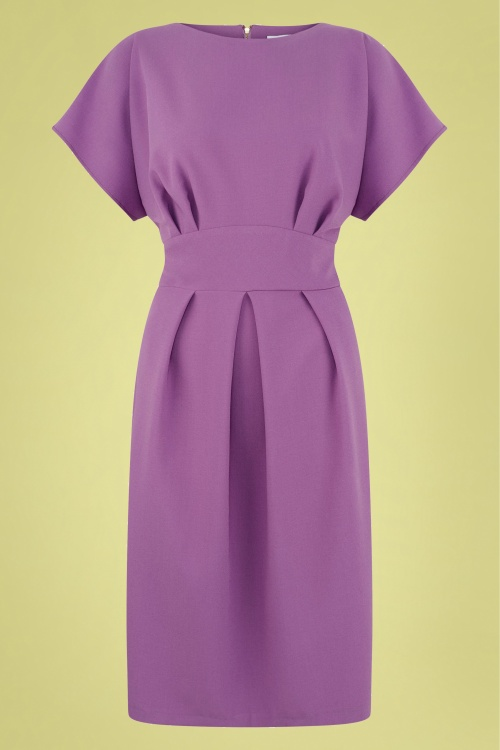 Closet 30161 Pencil Dress Lilac 04052019 0004W