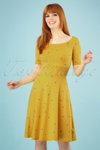 Blutsgeschwister 27293 Roswitas Yellow Dress 20190313 003wit 020W