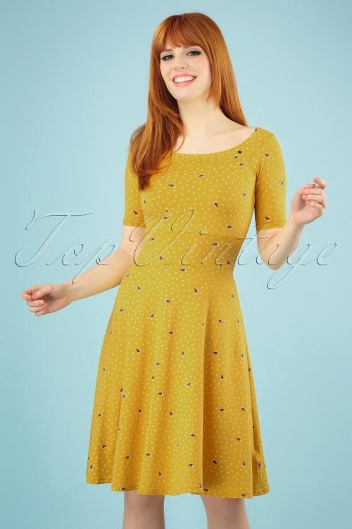 Blutsgeschwister 27293 Roswitas Yellow Dress 20190313 003wit 020W