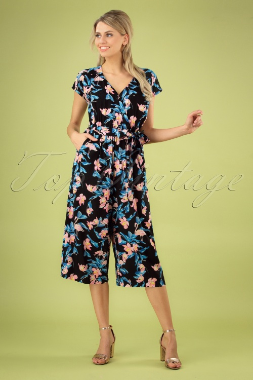 Bunny 28851 Florida Floral Jumpsuit 20190308 002 020W