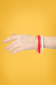 50s Summer Bracelet in Red
