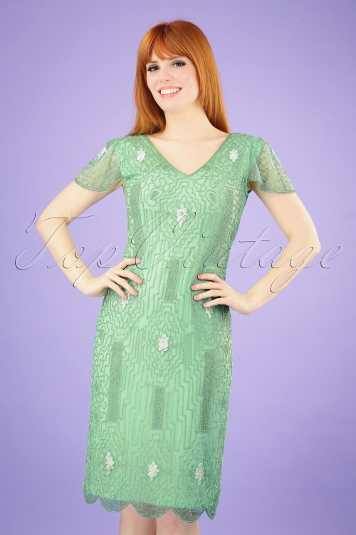 GatsbyLady 29132 20s Downtown Mint Green Dress 20190305 002 020W