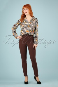 Lady Love 28466 Skinny Pants Hazel Brown 20190129 1W