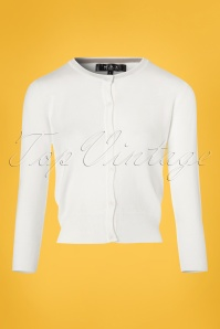 Mak Sweater White Cardigan 140 50 24940 20180222 0002w