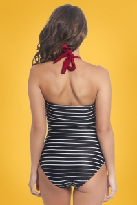 Pussy Deluxe 26581 Holiday Collar Striped Bathingsuit 20190327 3
