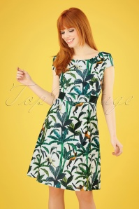 Smashed Lemon 27739 Tropical Monkey Dress 1 020W