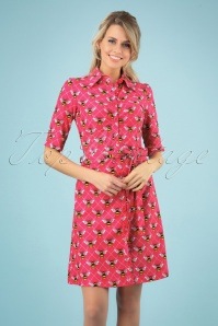 Tante Betsy 26642 Button Down Bee Dress 20190312 003 020W