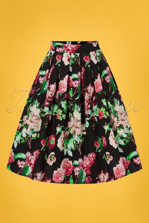 Belsira 30309 Wide Vintage Skirt 20190404 001W