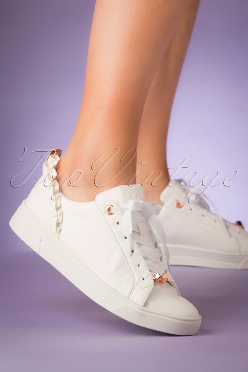 Ted Baker 28704 Sneaker White Rose Astrina 20190402 008W