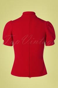 Belsira 29050 Jersey Blouse in Red 20190405 008W