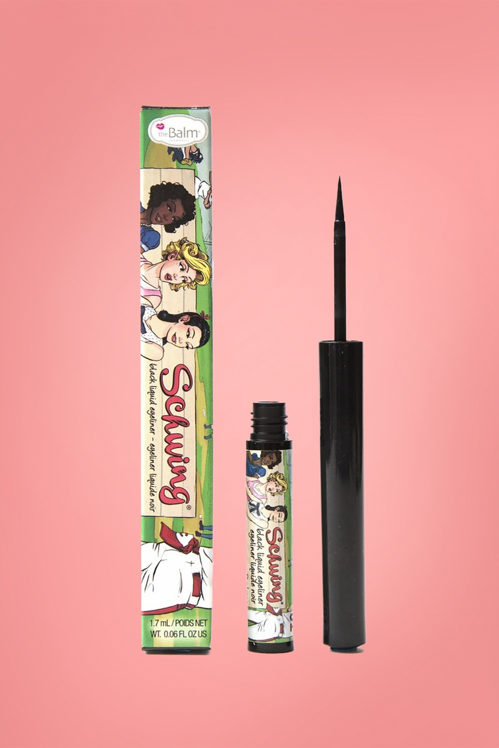 Authentic 1950s Makeup History and Tutorial Schwing Liquid Eyeliner in Black £16.39 AT vintagedancer.com