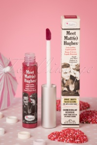Meet Matte Hughes in Dedicated en Rouge Groseilles