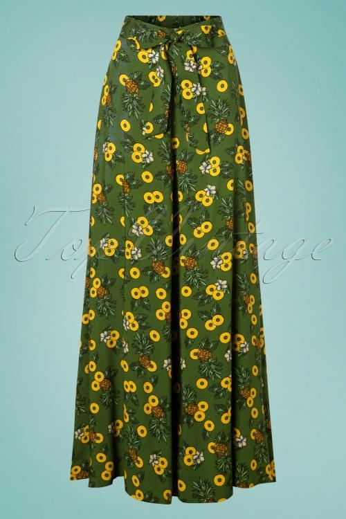 c9526f059eb Collectif Clothing 27386 Kiko Pineapple Slice Trousers 20180816 001W