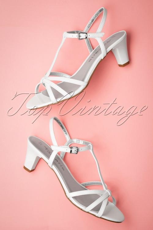 Tamaris 27832 Heels White Sandal 20190404 013W