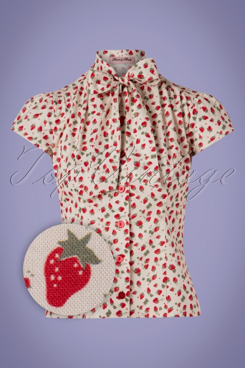Heart Of Haute 29523 Blouse Estelle Strawberry 20190411 0005Z