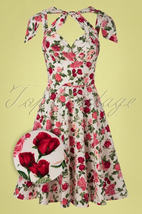 Victory Parade 30024 Swingdress Rosa Feline Roses 20190411 0003Z