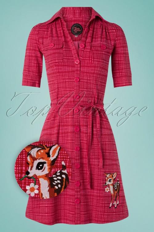 Tante Betsy 26676 Aline Dress Pinkl Checked 20190411 0003Z