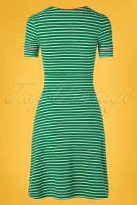 Tante Betsy 26678 Aline Dress Aunti Stripes Green 20190411 0009W