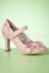 50s Devine Pumps in Pink