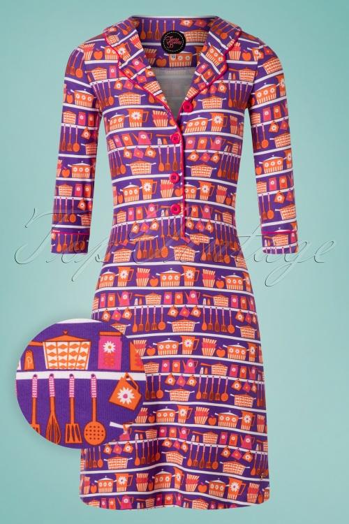 Tante Betsy 26663 Aline Dress Kitchen Violette 20190411 0003W1