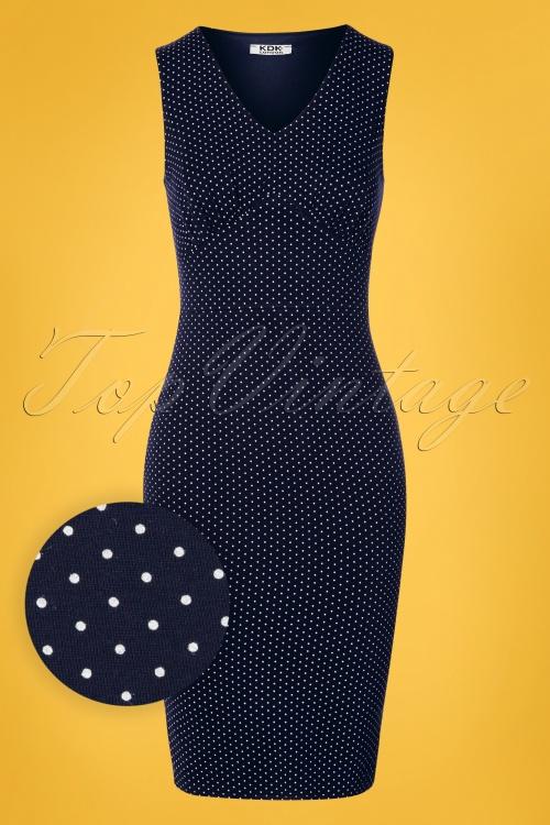 TopVintage boutique 30099 Blue Dress 20190412 003W1