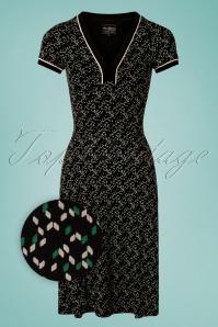 60s My Fair Dress in Black